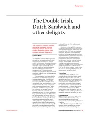 The Double Irish and other delights