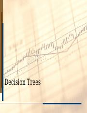 Review of Decision Trees