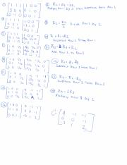 Solving Matrices example