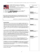 Honors Govt Ch2 Study Guide 12e - The Constitution
