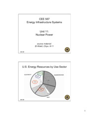Lecture11 Nuclear Power for Energy Infrastructual system