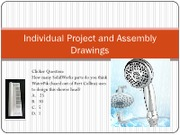 Lecture 11 - Project and Assembly Drawings