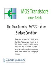 2.2 The Two-Terminal MOS Structure – Surface Condition.pdf