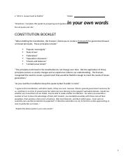 US Government and Politics Constitution Project.docx