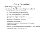 Course Requireemnts -CME314_1
