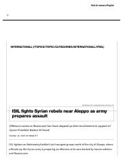 ISIL Fights Rebels as Army Prepares Assault _ Al Jazeera America.pdf