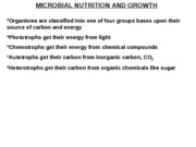 Ch6_Microbial Nutrition and Growth