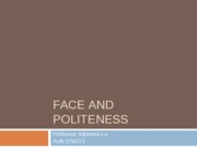 politeness%20and%20face