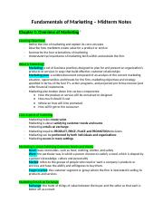 Fundamentals of Marketing – Midterm Notes.docx