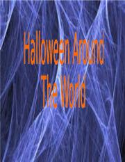 Halloween Around The World.ppt