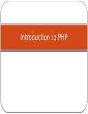Introduction to PHP.pptx