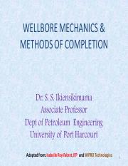 WELLBORE MECHANICS & METHODS OF COMPLETION.pdf