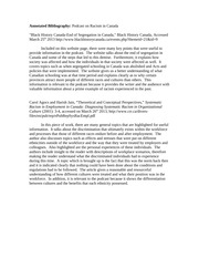 decreasing racism in canada essay Racism essayswhen the words racism is mention what comes to mind to most people racism is when one belief that his/her genetically physical characteristics is better.