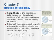 ch7-Rotational Motion