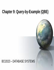 CHAPTER 9_Query by Example QBE.pptx