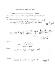 Math1550solutiontotest1(S14)