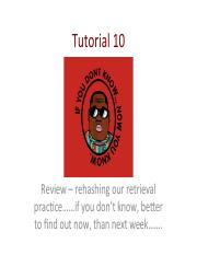 Tutorial 10 retrieval practice summary TO POST (1)