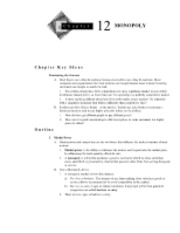 Chapter 12 Textbook Outline and Answers