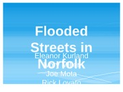 Flooded Streets in Norfolk - Group 3 Project