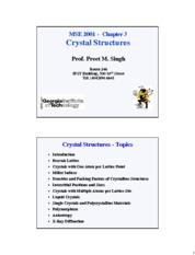 Chapter3-Crystal+Structures