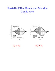 Band Structure and Metallic Conduction