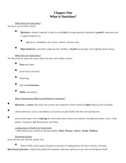 HLTH 120 Chapter One Worksheet