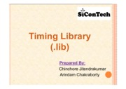 Timing Library