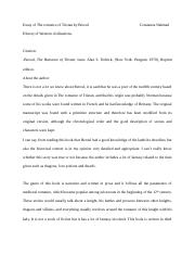 Essay of the romance of Tristan by Constanza Nahmad..docx