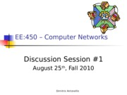 EE450-Discussion1-Fall-2010