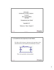 lecture 9 Transmission lines - model applications