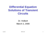 EEE202_Lect12_DiffEqSolutionTransientCircuits