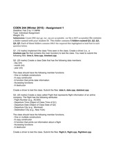 assignment 1 2015w Programming assignments: you will do three programming assignments in python (see sidebar for more information.