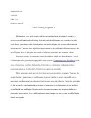 Critcal Thinking Assignment 4.docx