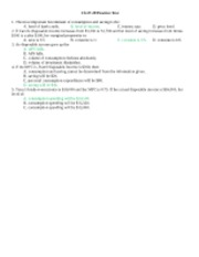 Unit 2 practice test key