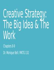 Ch 8-9 Creative Strategy and Execution (1).pptx