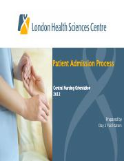 1Patientadmissionprocessday20800July2012