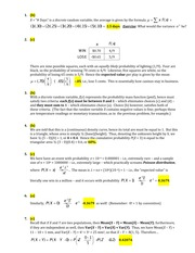 Stat 600 Expected Variance Quiz Solutions