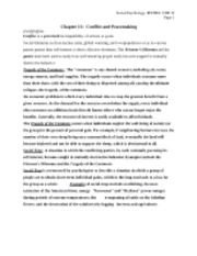 MYERS, Social Psyc, Chp 13 outline-notes
