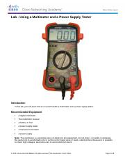 2.2.4.4 Lab - Using a Multimeter and a Power Supply Tester (1).docx