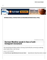 German Muslims speak in face of anti-immigrant movement _ Al Jazeera America.pdf