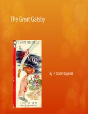 Gatsby Chapter 5.ppt