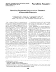 Resolving_praradoxes_of_acupuncture_research