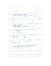 Eng Sci Materials - Stiffness and Weight Lecture Notes