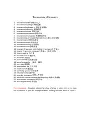 Terminology of Insurance.doc