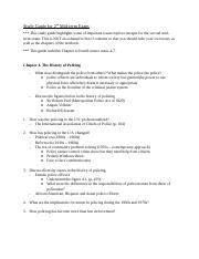 Study Guide for 2nd Mid-term_ver2