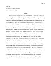 Elephant Research Paper.docx