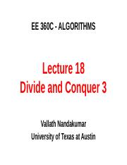 360C Lect 18 DivideNConquer 3.ppt