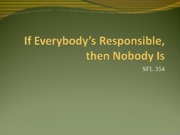 10 Everybody Responsible - powerpoint