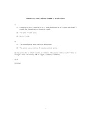 Math121 discussion - 2nd week answers