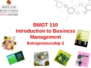 2-Entrepreneurship 2
